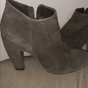 Steve Madden suede Penelope ankle boots